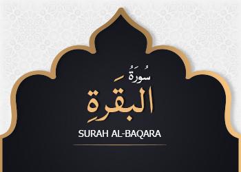 SURAH AL-BAQARA: #16 14th June 2017